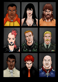 Suicide squad - RIP by Adi-Herawan