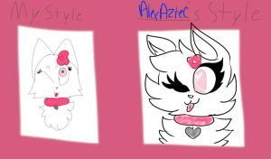 kitty style by AlexAztec
