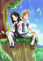 [Gift] Lovers' Hill by GamefreakDX