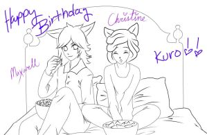 Max And Crissy: B-DAY FOR SOMEONE by KaiWhiteTiger
