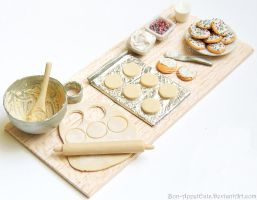 1000 Watcher Prize - Sugar Cookie Prep Board by Bon-AppetEats