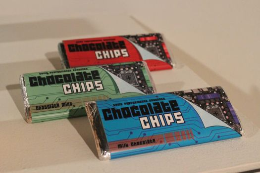 Chocolate Chips Candy Bar Design by Akebane