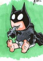 Batman..err Baby by johnnyism