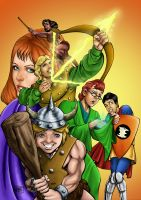 Dungeons and Dragons by robson-abs