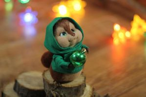 Chipmunk Theodore by Irentoys