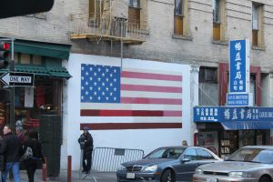 Patriotic China Town in SF by mrwho103