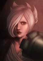 Riven portrait by A-dellaMorte
