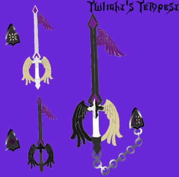 Keyblade: Twilight's Tempest by zeromaster14