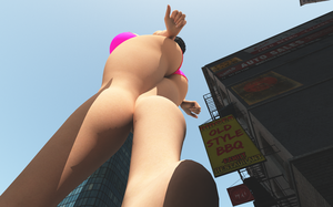 Vue giantess 57 by nyom87