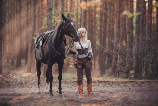 Ciri - The Witcher - Cosplay by VerraLeto