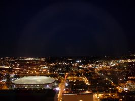 Minneapolis - Metrodome Lights by ice-queen-blue