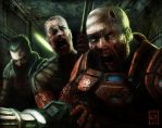 Doom: Zombie Soldiers by Emortal982