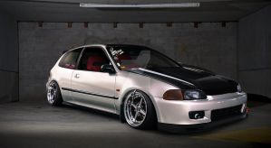 Honda civic eg by SkicaDesign