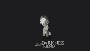 Hello Darkness. by R4inbowbash