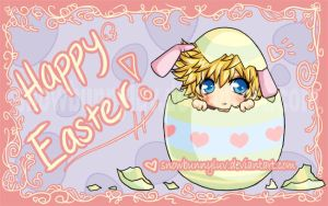 Kingdom Hearts- Happy Easter07 by snowbunnyluv