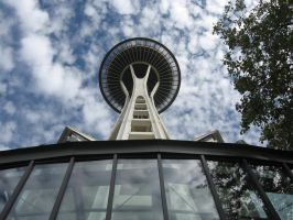 Space Needle I by Elgaladwen