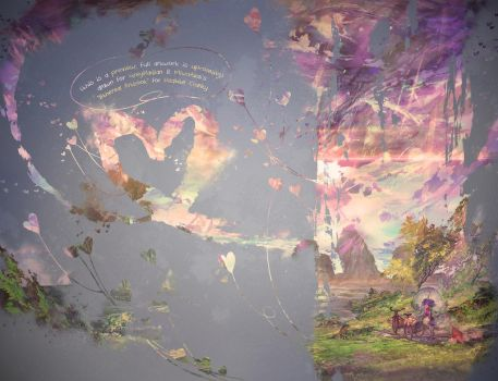 Preview: 'A 'Ethereal Charity Artbook' by muddymelly