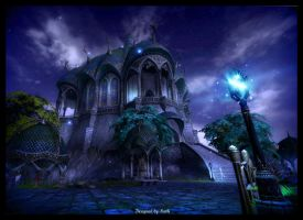 sanktum at night by Kathamausl