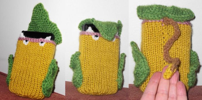 Custom DS Cozy- Victreebel by TheSerialKnitter