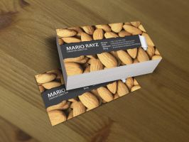 Peanut peel business card by Lemongraphic