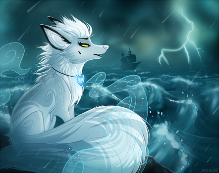 Cruel and cold like winds on the sea by JaylacineChiboa