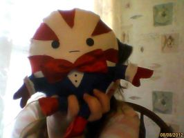 Peppermint Butler Plushie by EchoHearts