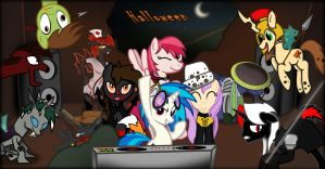 Halloween Party 2014 by TheIrishHusky