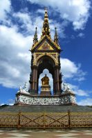Albert Memorial by Teakster