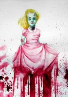 Little zombie princess by happy-smiley-robot
