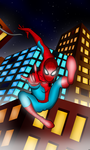 Swinging above the Skyscrapers by Safir-O-Hara