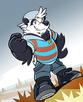 Tairu the Panda by super-tuler