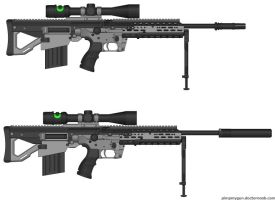 M-29 Odin Sniper Rifle by ExtendedProject