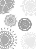 Pattern Photoshop Brushes by mfcreative