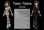 Jackal Teen Titans version by Neo-Jackal