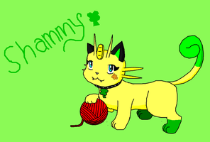 Shammy the Meowth by Luigirocks84