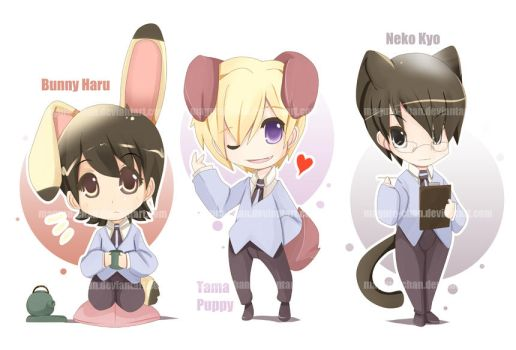Ouran Fluff by maguro-chan