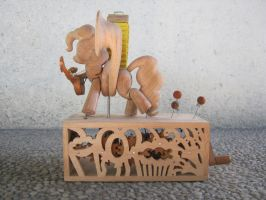 Have Tuba, Will Travel (unpainted) by renegadecow