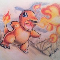 004 Charmander by ArtzxGeek
