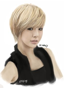 Girls' Generation Sunny by RyoKuXaZ