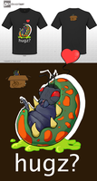 The Hugz Bug: Cute Monster Tee Entry by Balto-Boy