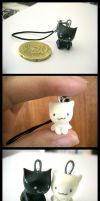 kitten charms by Zin-do-things