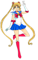 Sailor Moon by Sailor-Serenity