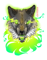 Green ghost by Haurin