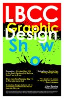 Graphic Design Show Poster by donaldson1026