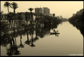 nile river by A-Mohsen
