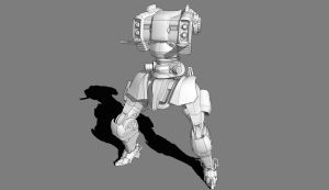 Mecha Concept WIP Update by dematics
