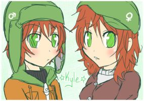 South Park: Double Kyle by Kamaniki