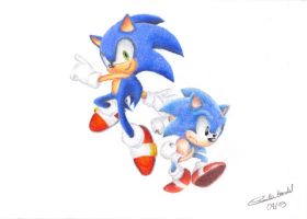 Sonic Generations by KyraXIII
