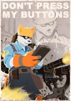 Arctic Fox TF2 Prop Poster by JayAxer