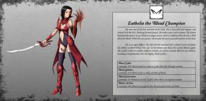 Euthelia the Blood Champion by TakemaKei